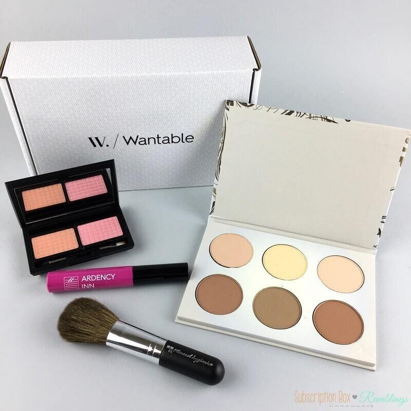 Wantable Makeup Review - April 2017 - Subscription Box ...