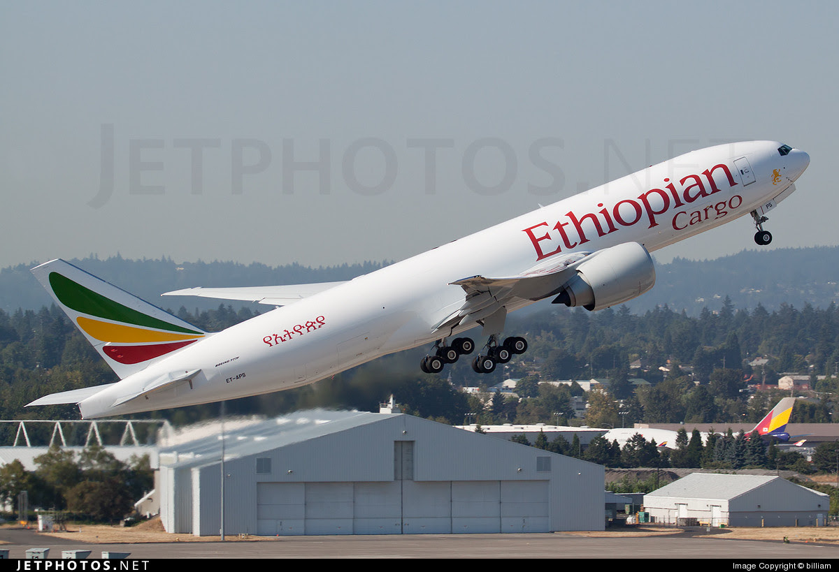 Ethiopian Airlines' first Boeing 777F