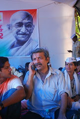 Mayank Gandhi India Against Corruption by firoze shakir photographerno1