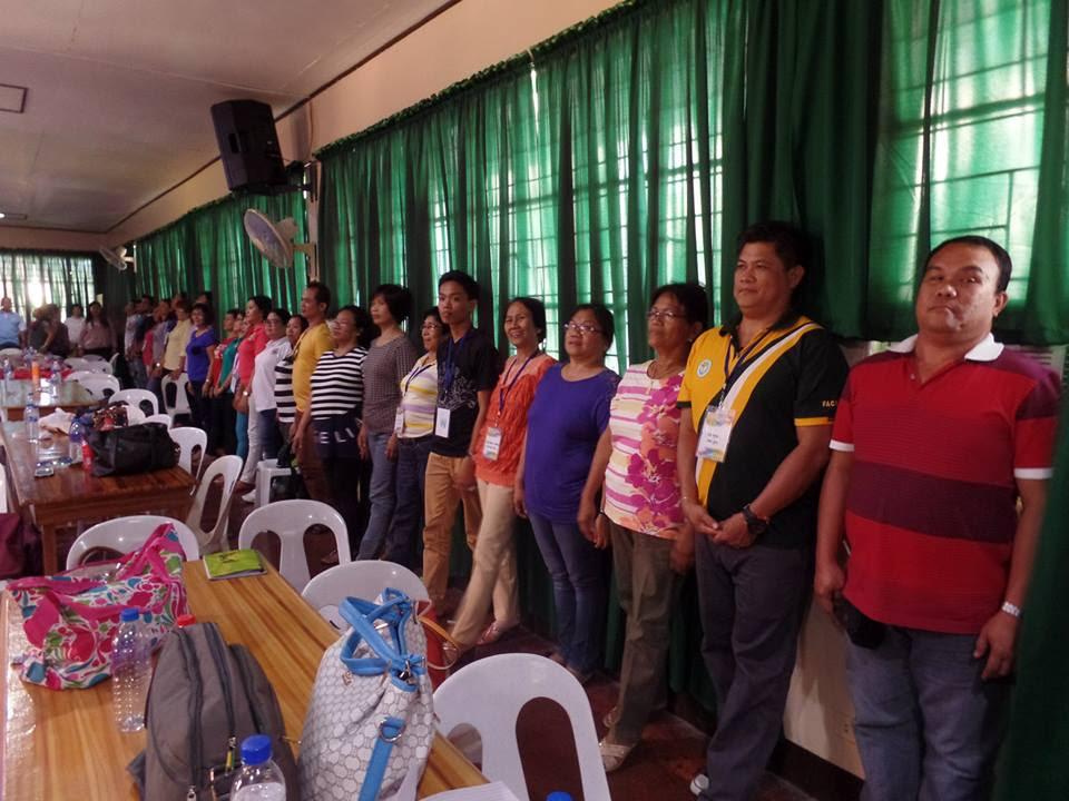 Teachers Learning Proper Posture for Vocal Health
