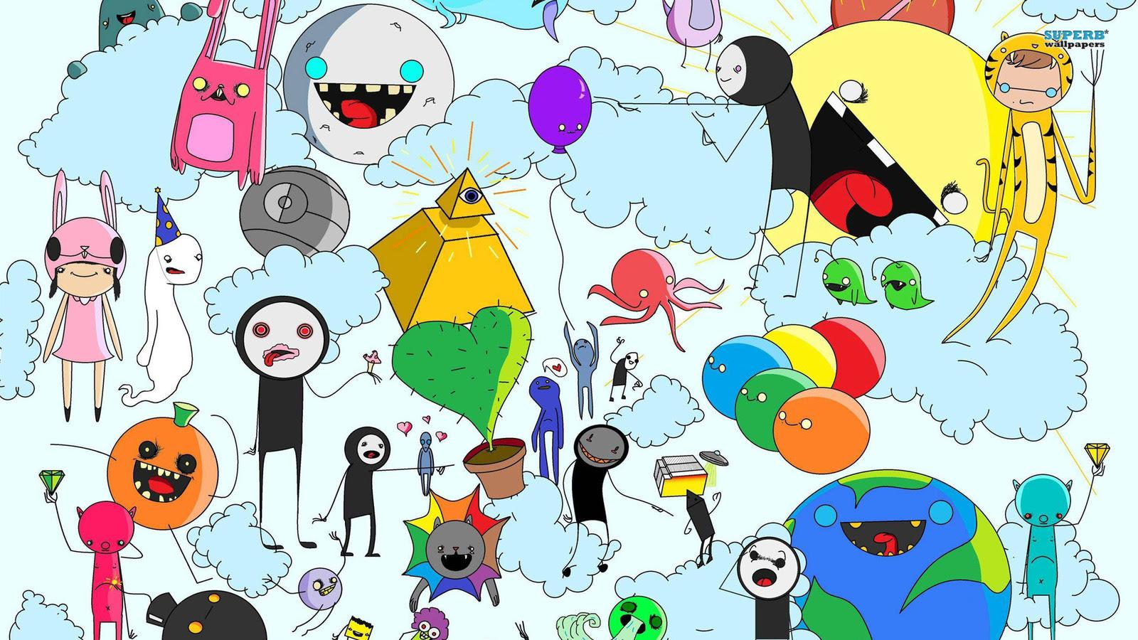 Download 7700 Wallpaper Dinding Cartoon HD Paling Keren