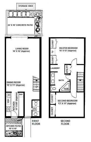 Countrybrook North Condominium Floorplan A