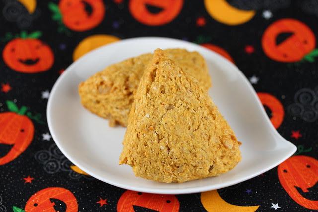 Pumpkin & Ginger Scones