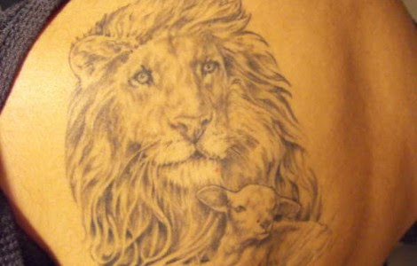 The Lion And The Lamb Tattoos Tattoos Designs Ideas
