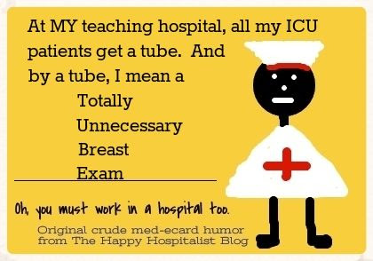 TUBE totally unnecessary breast exam acronym ecard humor photo