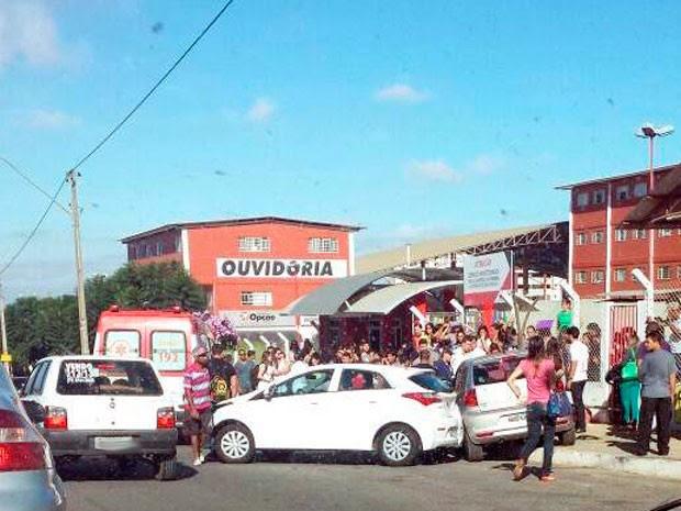 Atropelamento em Vitória da Conquista 02 (Foto: Marcelo Guerra/Arquivo pessoal)