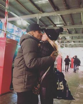André Gonçalves e Danielle Winits em Nova York, nos Estados Unidos (Foto: Instagram/ Reprodução)