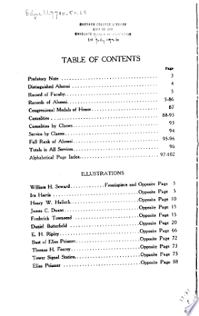 Book Union College Alumni in the Civil War, 1861-1865