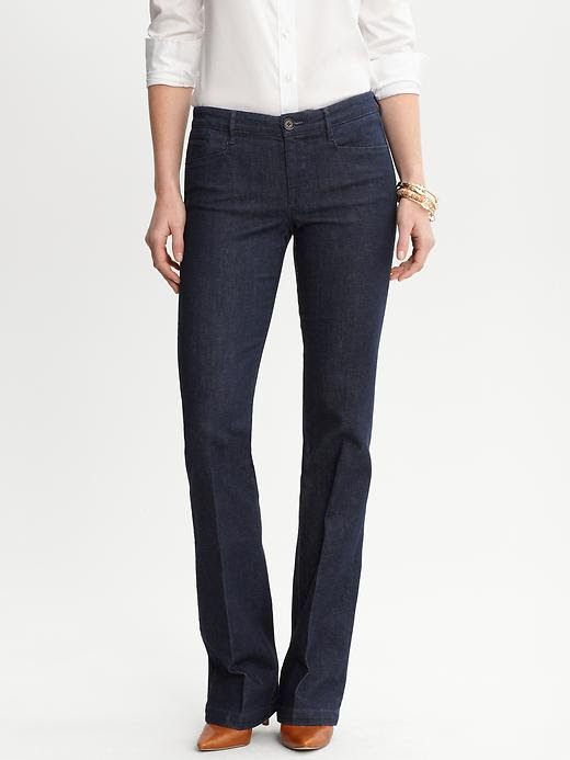 Banana Republic Indigo Denim Trouser