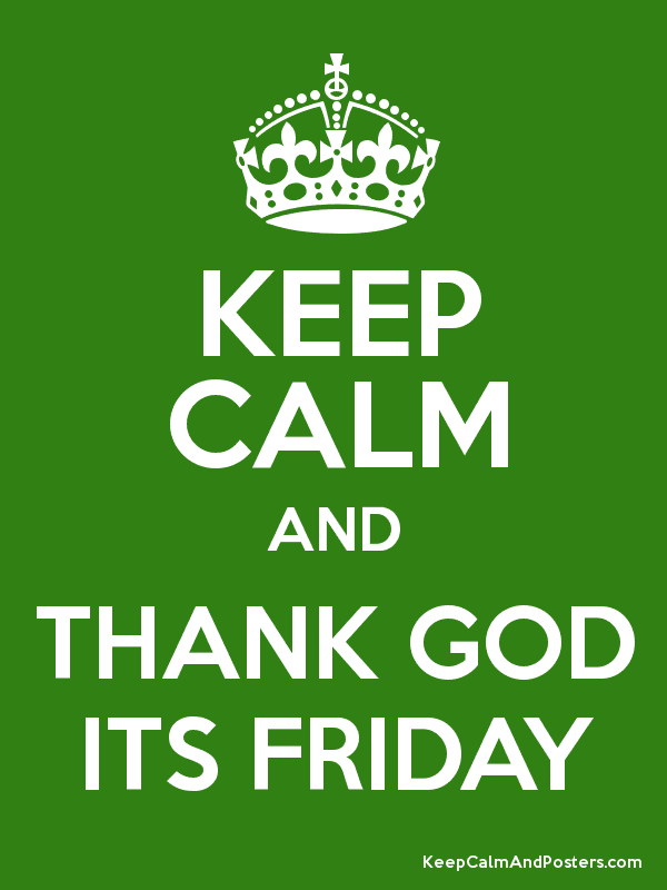 Thank God Its Friday Lento Groep Bv
