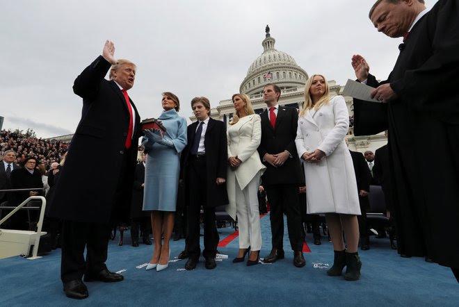 Diễn văn nhậm chức của Trump bất ngờ được học giả, chính trị gia Nga khen hết lời - Ảnh 1.
