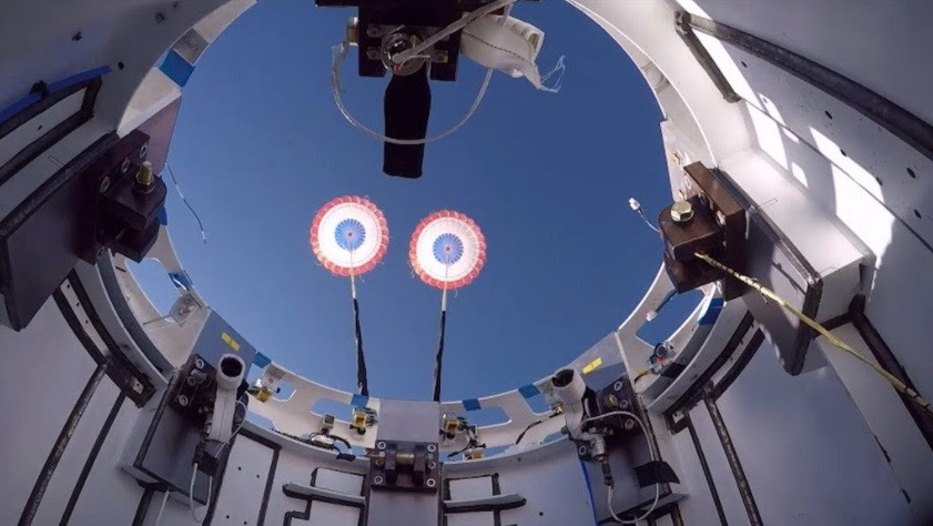 Boeing gives Starliner crew capsule's parachutes a workout in drop test (video) #rwanda #RwOT #survivor2020