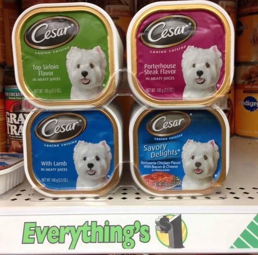 Dollar Tree: FREE Cesar Canine Cuisine