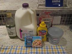 Ingredients for Pastica de Bonito