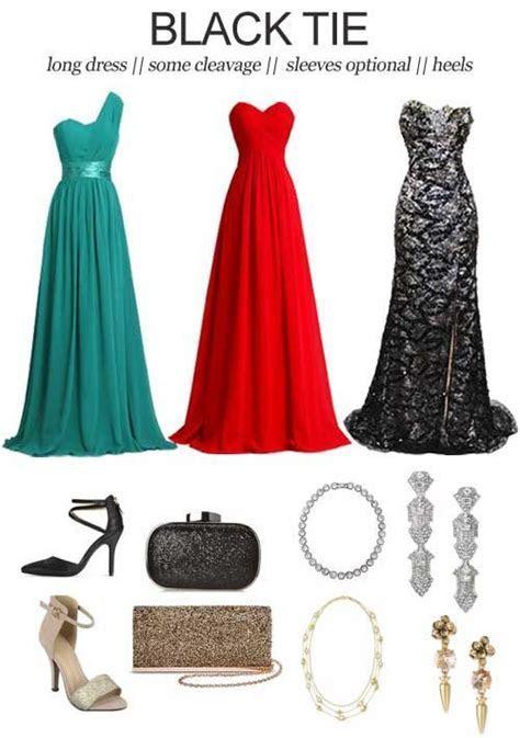 Image result for black tie dress code for women   e t i q