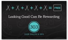 CPS-1044 - salon coupon card