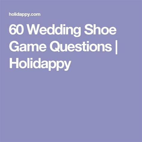 60 Wedding Shoe Game Questions   Holidappy   Wedding