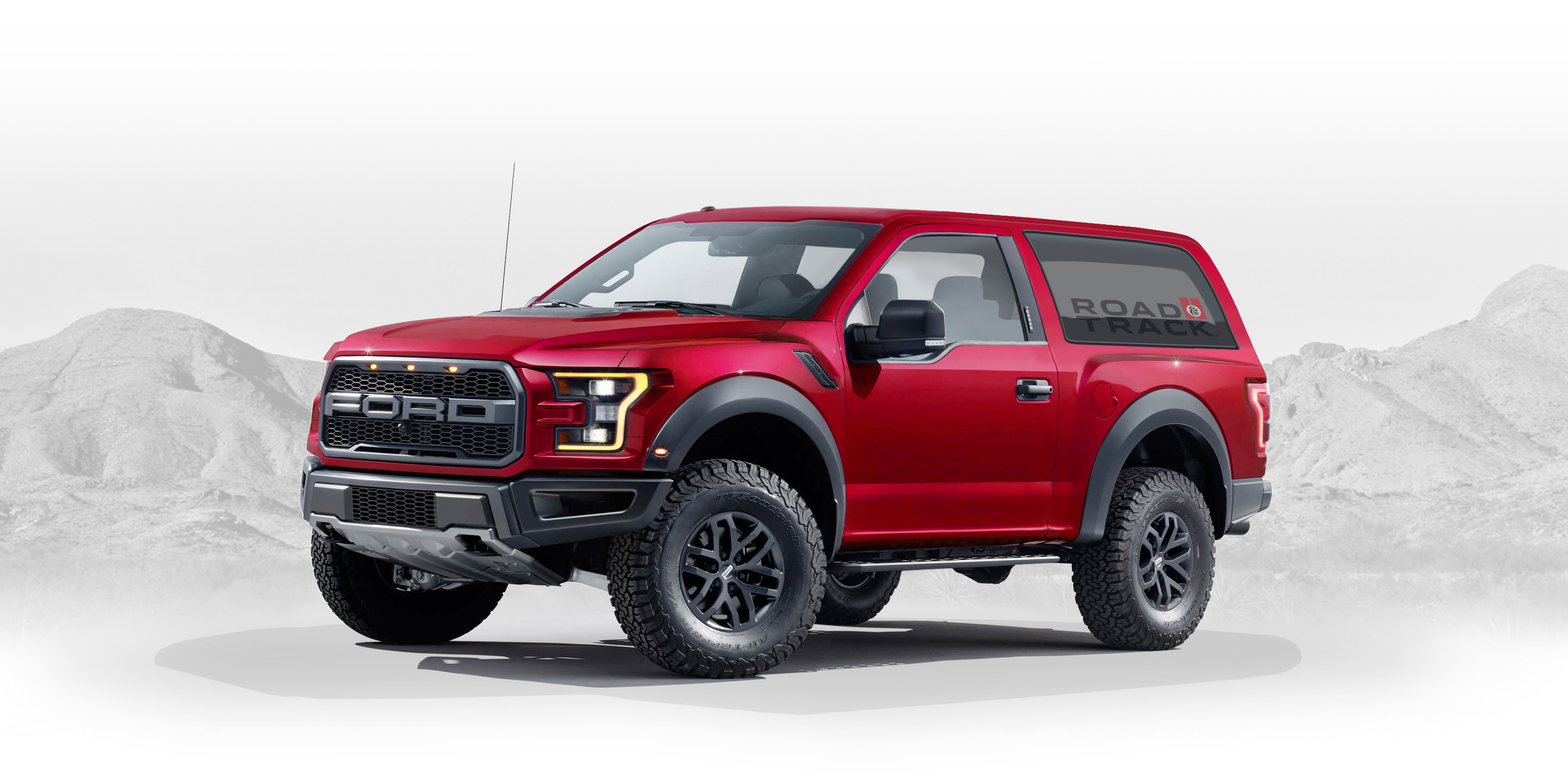 2020 Ford Bronco Designed By Fan - Graphic Artist Creates ...