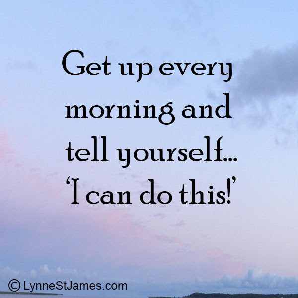 You Can Do It Lynne St James
