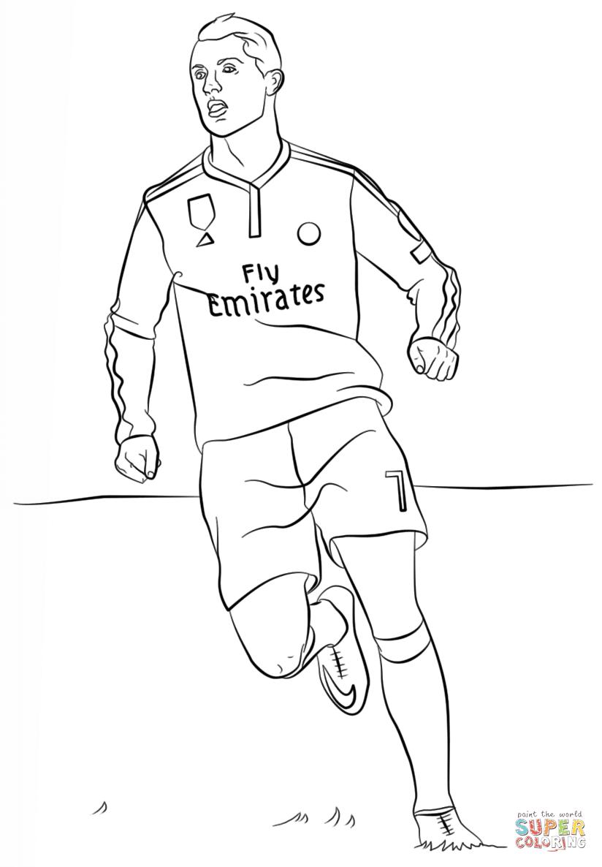 er sur la Cristiano Ronaldo coloriages pour visualiser la version imprimable ou colorier en ligne patible avec les tablettes iPad et Android