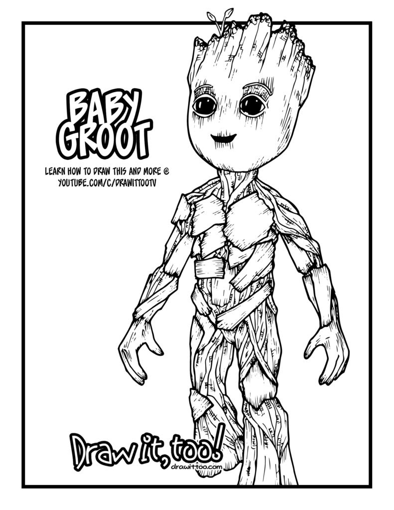 Unique Guardians Of The Galaxy Vol 2 Coloring Pages Top Free Printable Coloring Pages For All