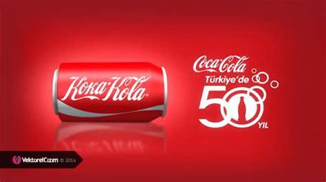 vektoerel cizim coca cola adini ve logosunu degistirdi