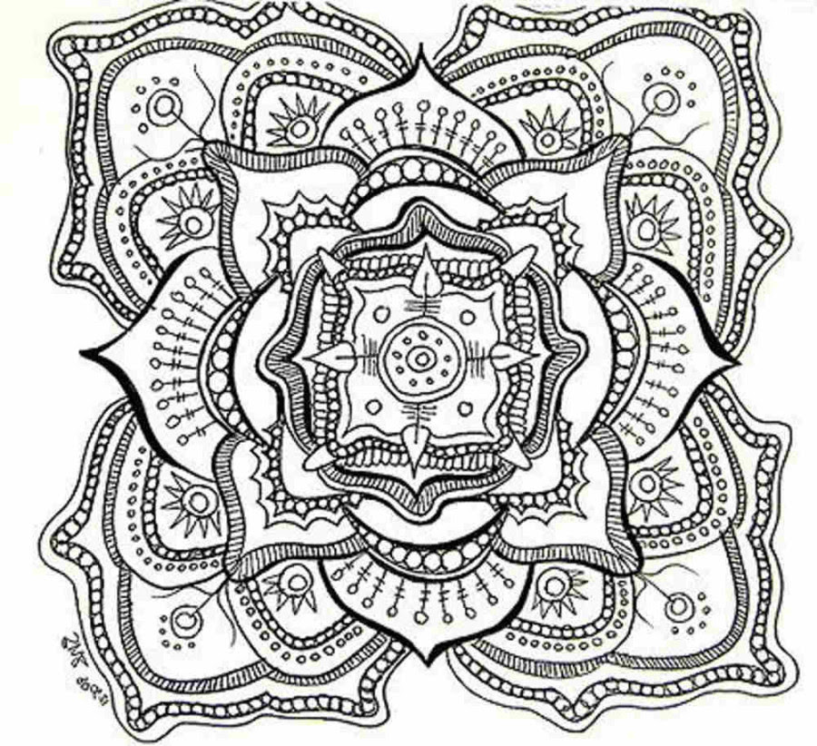 66 Free Printable Mandala Coloring Pages For Adults Pdf Download Free Images
