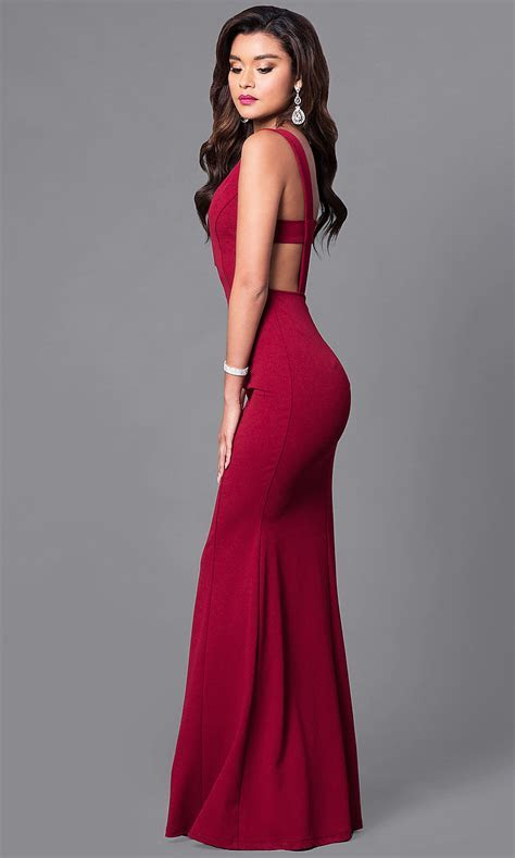 Cheap Mermaid Prom Dress with Open Back   PromGirl