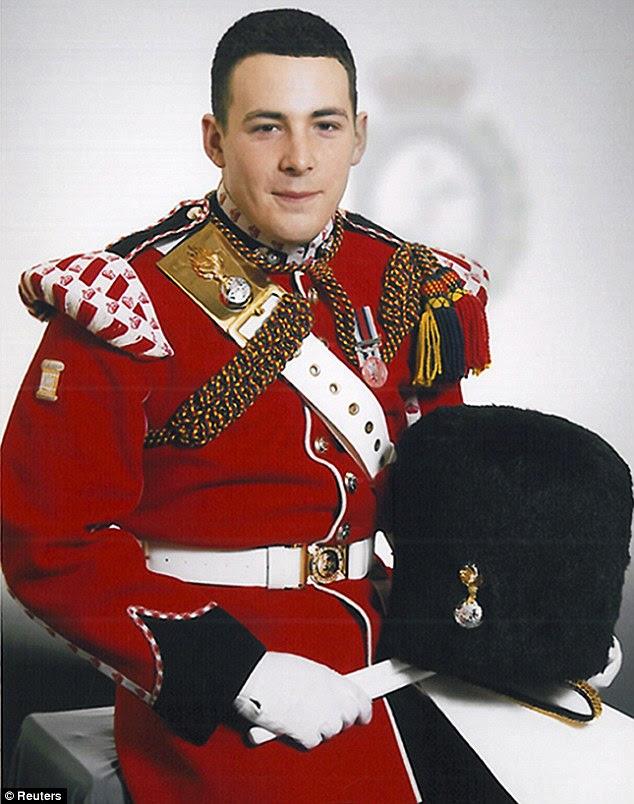 British soldier Lee Rigby beheaded by a jihadist in Woolwich