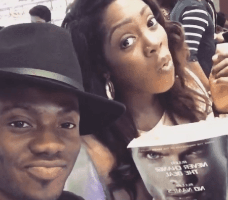 Korede Bello Hangsout With Tiwa Savage In London(pics)