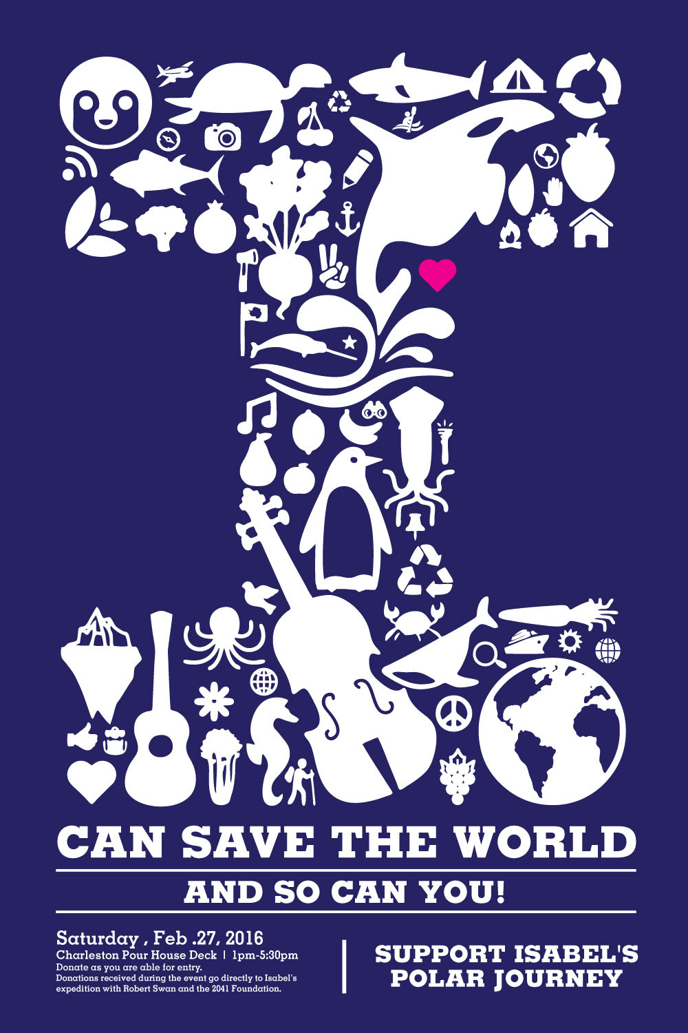 I Can Save The World Gil Shuler Graphic Design