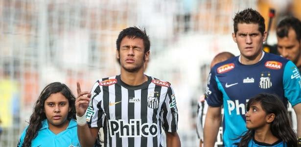 Neymar jogará mais 3 jogos pelo Santos antes de defender a seleção brasileira