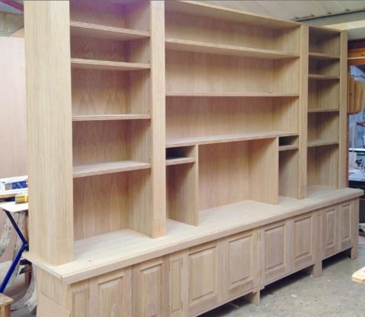 produttore librerie su misura in legno trento