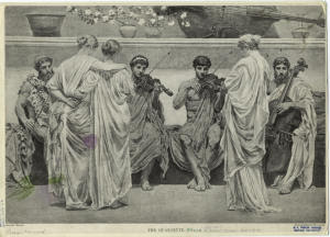 The quartette. Digital ID: 833023. New York Public Library