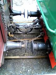 Carrage couplings on ABT Railway