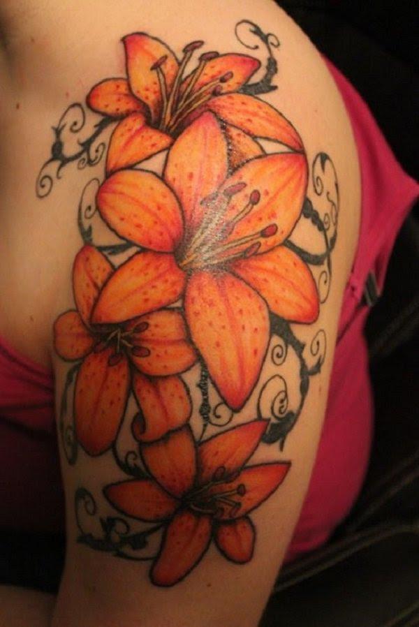Lily Flower Tattoo Design Ideas The Xerxes