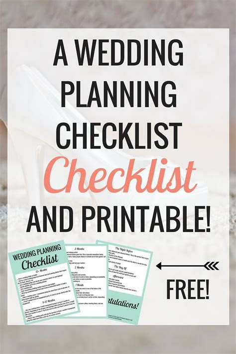 The Wedding Planning Checklist to Make Your Life Easier