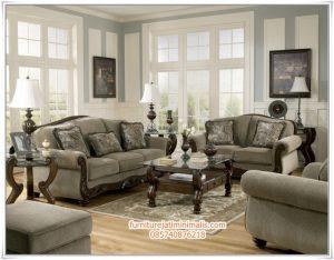 Sofa Ruang  Tamu  Jati Blue Grey sofa ruang  tamu  jati sofa