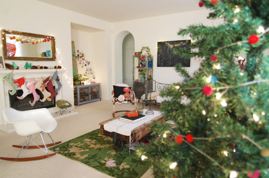 our home for christmas