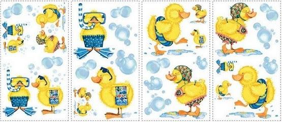 Rubber-ducky-bathroom-decor-