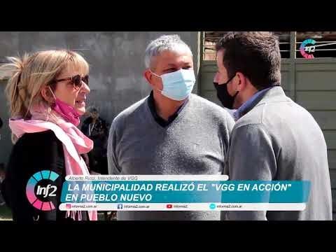 VGG en Accion en Pueblo Nuevo
