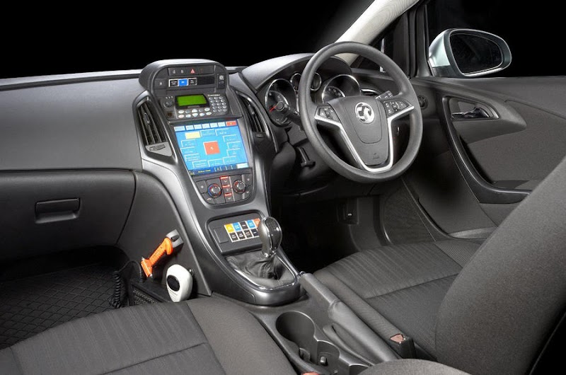 Police Car Interior Uk