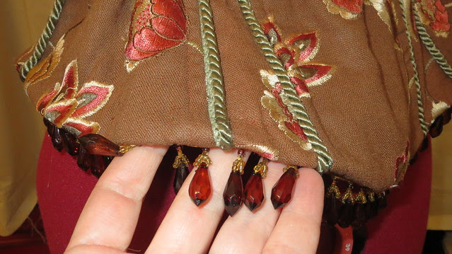 hem and beads