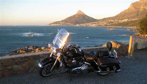hire rent  harley davidson   cape town
