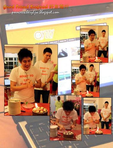 celebrating Vin's birthday