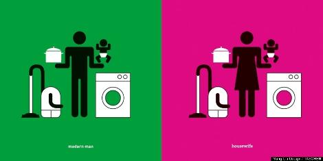 Μοντέρνος άνδρας - Νοικοκυρά