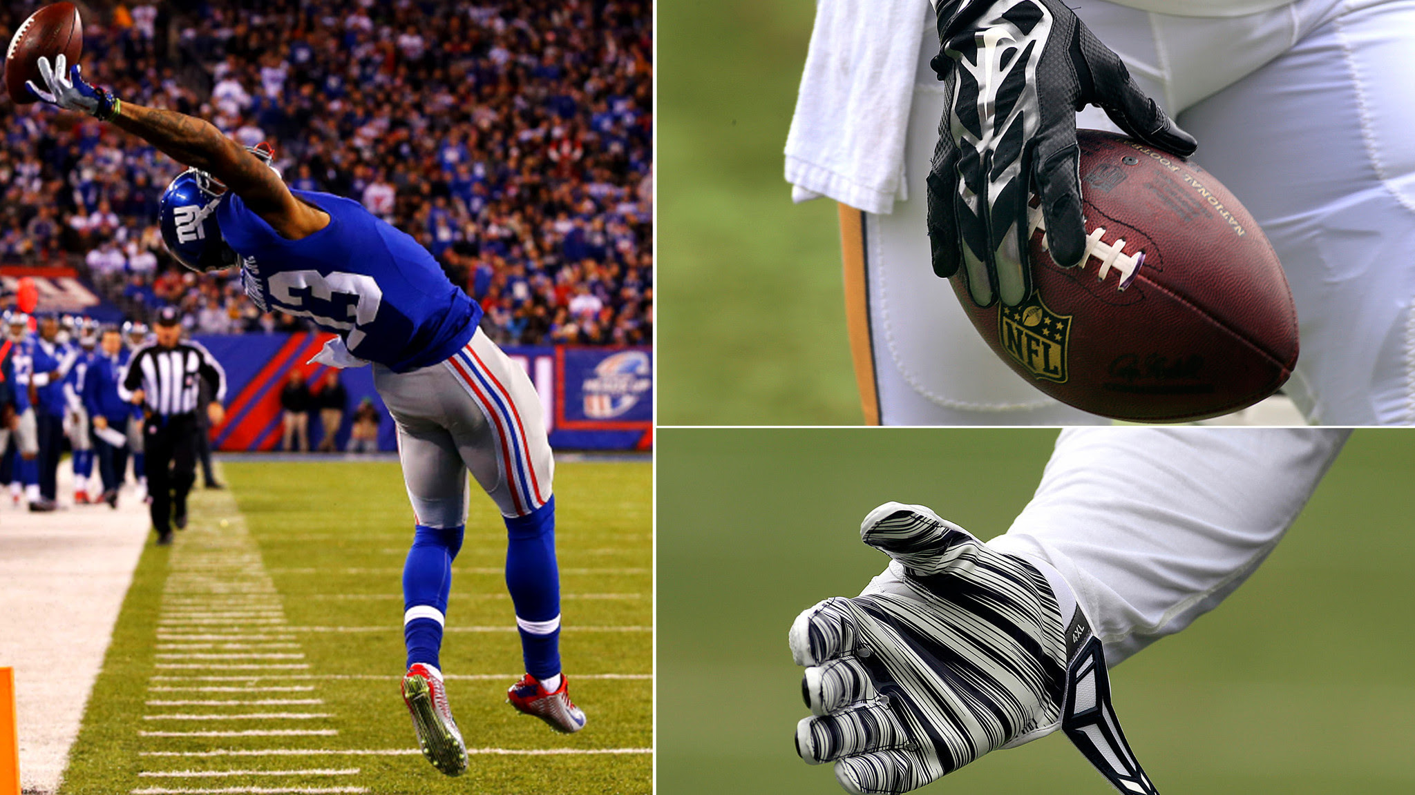 Gloves in NFL have gained popularity but use is largely unregulated  LA Times