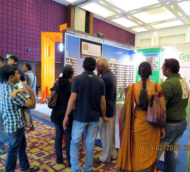 "G Corp Greens - The Times of India Pune Property Exhibition  ""Invest in West Pune""  16th & 17th February 2013"