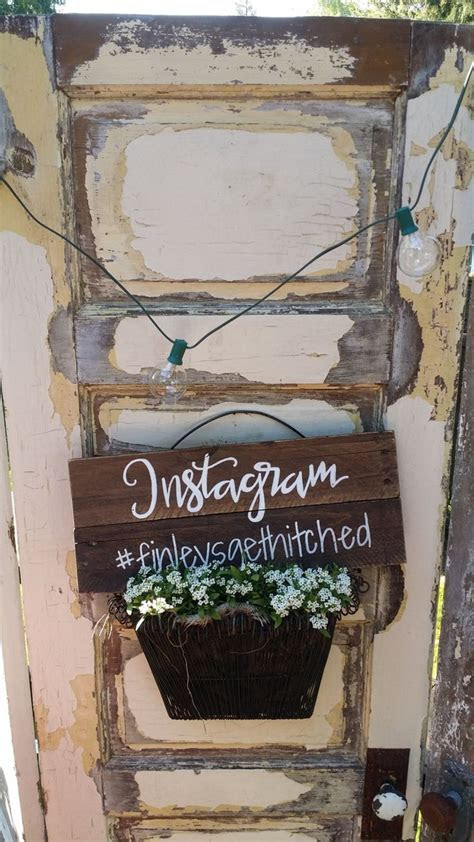 Best 25  Instagram wedding sign ideas on Pinterest