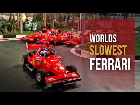 Junior Grand Prix - Kids slow racing scaled down Ferrari F1 car!